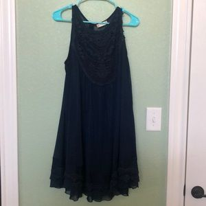 Altar'd State navy blue dress size medium